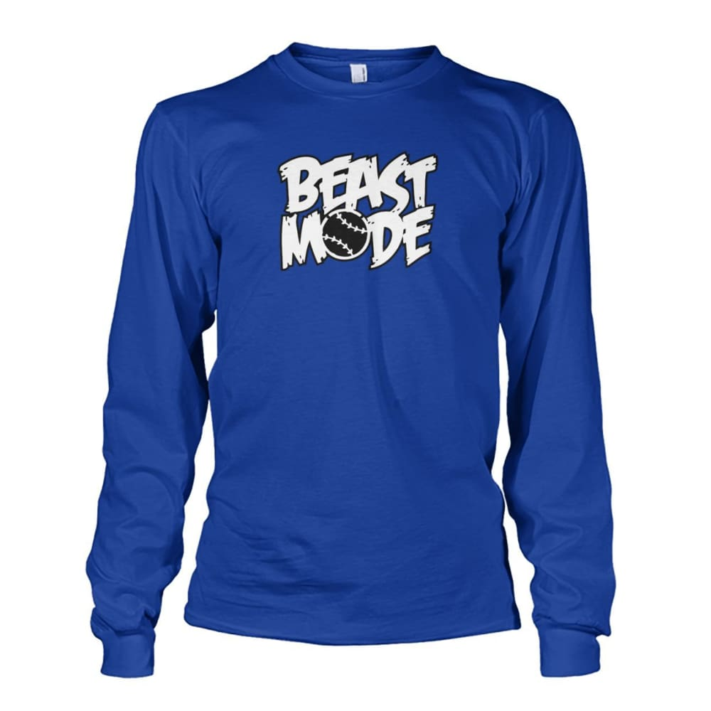 Beast Mode Long Sleeve - Royal / S / Unisex Long Sleeve - Long Sleeves