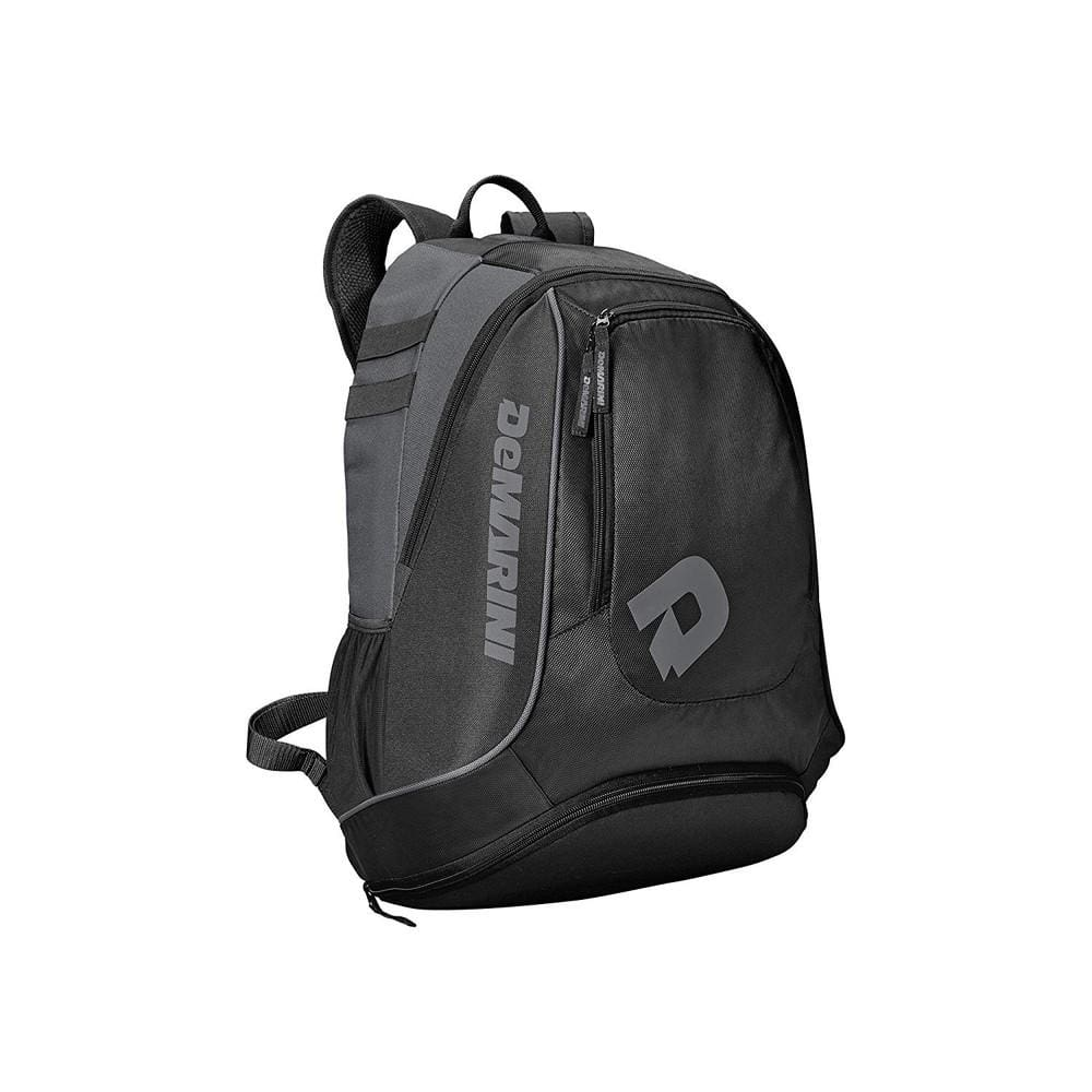 Demarini Sabotage Baseball Backpack Black - Sporting Goods