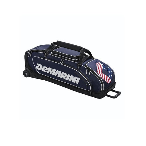 Demarini Special Ops Wheeled Bag Navy - Sporting Goods