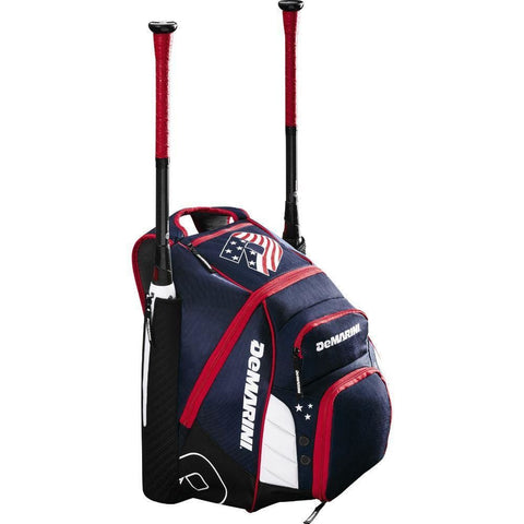 Image of DeMarini Voodoo Rebirth Carrying Case (Backpack) Baseball