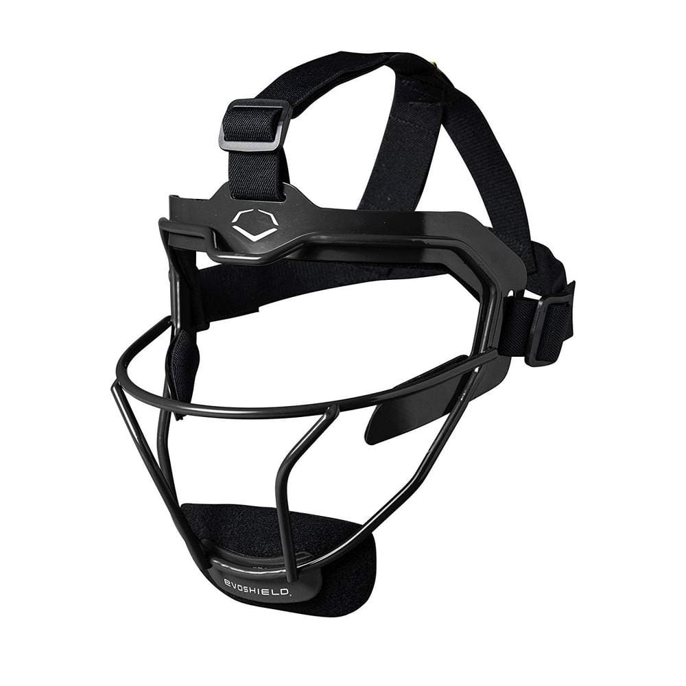 Evoshield Softball Defenders Facemask Black - Sporting Goods