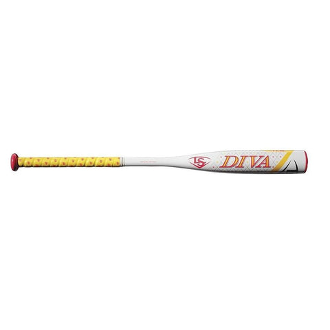 Louisville Slugger 2018 Diva (-11.5) Fast Pitch Softball Bat - Sporting Goods