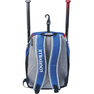 Louisville Slugger Carrying Case (Backpack) for Accessories, Gear, Baseball, Helmet, Glove, Shoes, Bat