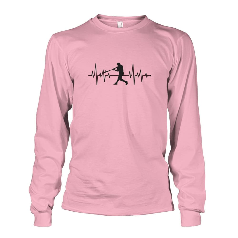 One With Baseball Long Sleeve - Light Pink / S / Unisex Long Sleeve - Long Sleeves