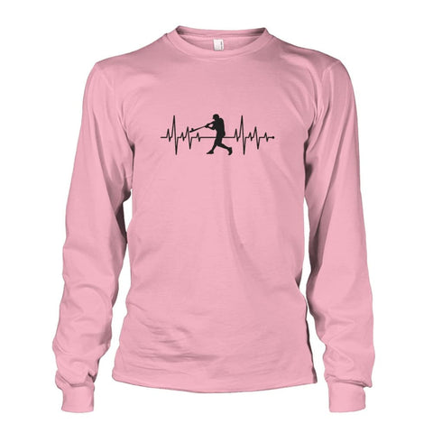 Image of One With Baseball Long Sleeve - Light Pink / S / Unisex Long Sleeve - Long Sleeves