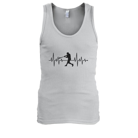 Image of One With Baseball Tank - Ash / S / Mens Tank Top - Tank Tops