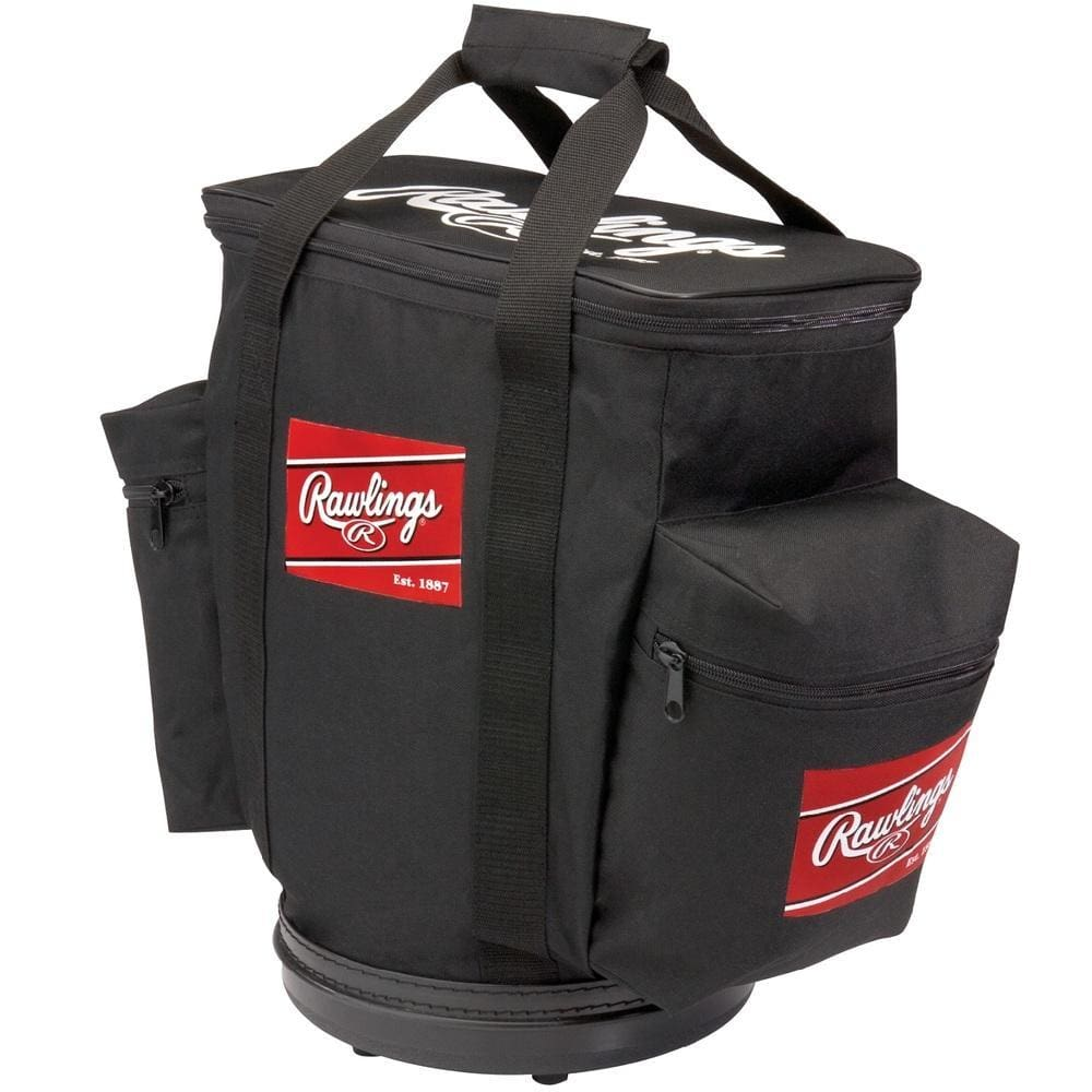 Rawlings Baseball Bucket Ball Bag-black - Sporting Goods
