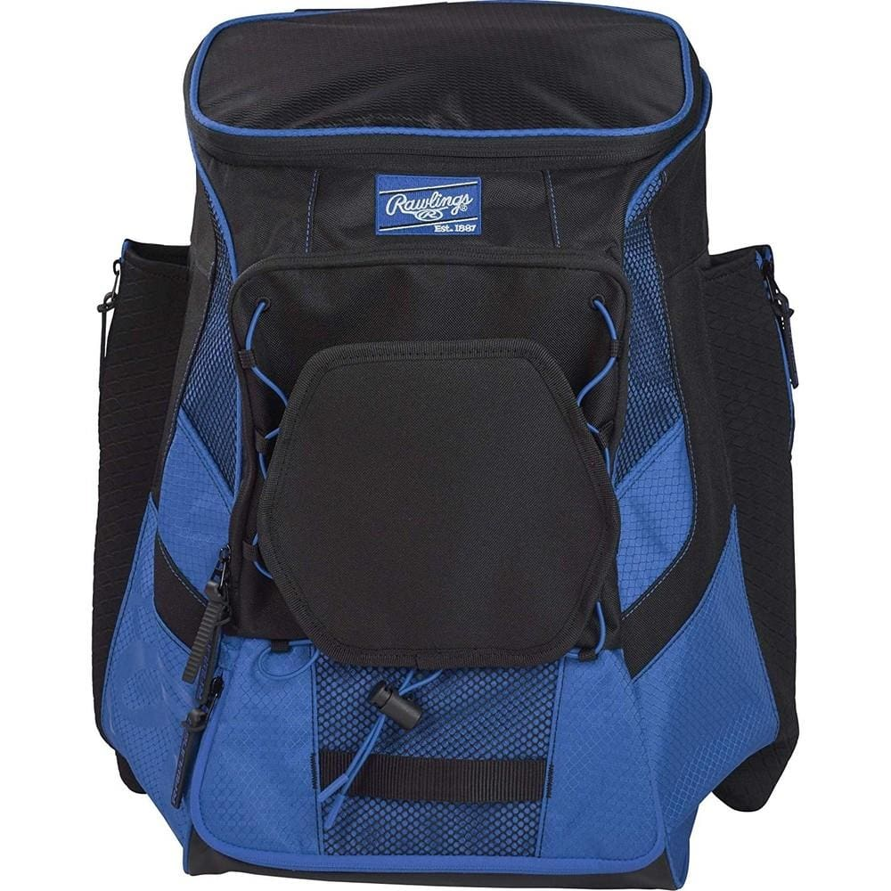 Rawlings R600 Players Baseball Backpack Royal - Sporting Goods
