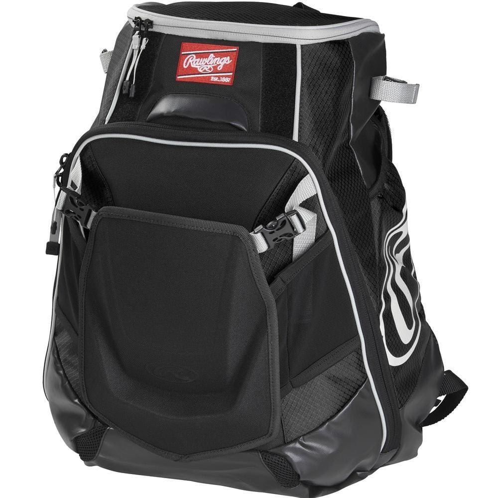 Rawlings Velo Backpack - Black - Sporting Goods