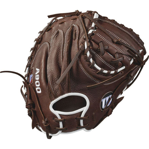 Image of Wilson 2018 A900 34in. Catchers Baseball Mitt - Right Hand Throw