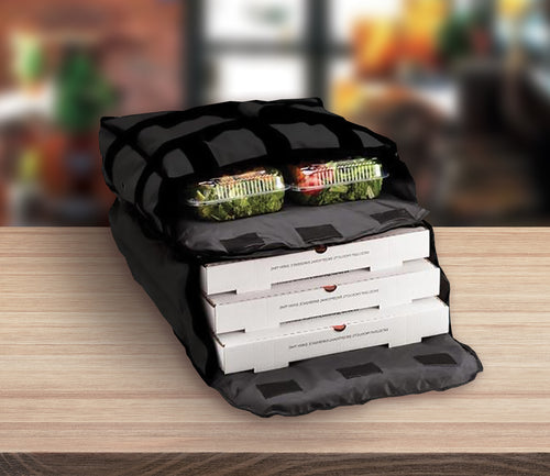 3-4 Pizza Hot Bags with Dual Compartment (4 Count) - SHOPSLICE