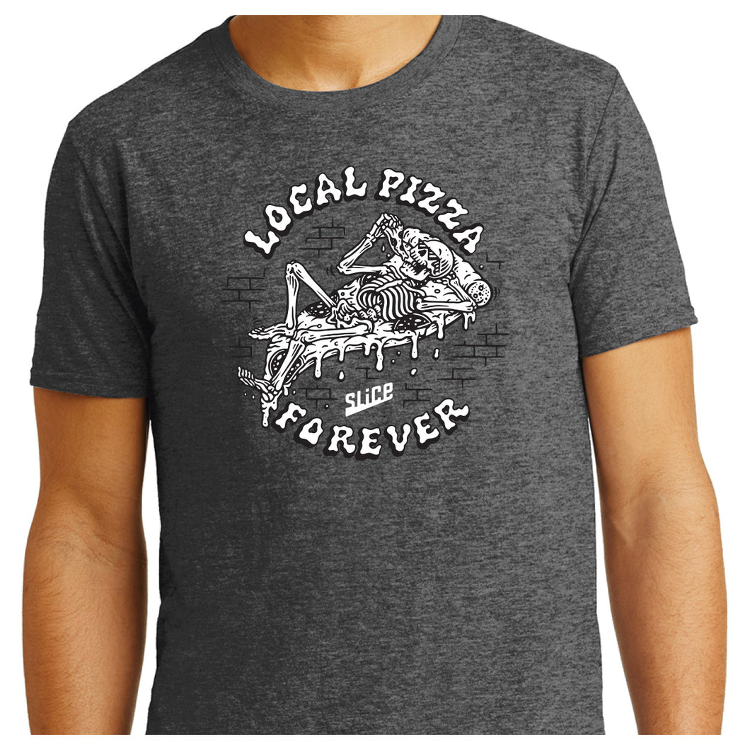 Local Pizza Forever T-Shirt - SHOPSLICE