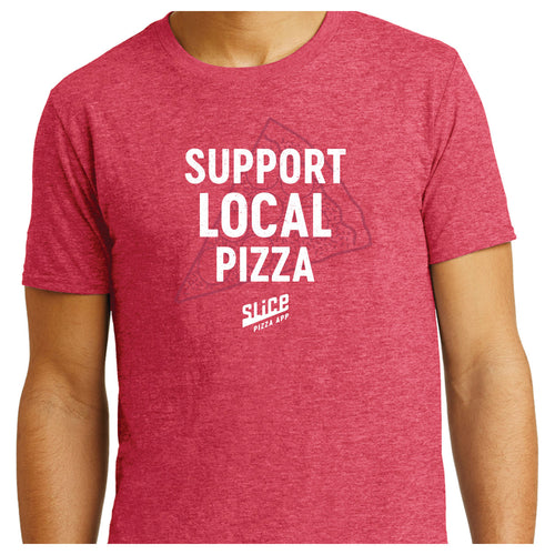 Support Local Pizza T-Shirt - SHOPSLICE