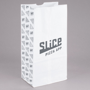 #12 White Paper Bag - SHOPSLICE