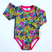 Load image into Gallery viewer, Handmade baby T-shirt/bodysuit All in 1 'April' - made to order