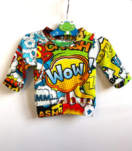 Load image into Gallery viewer, Handmade 'WOW!' Tee - READY TO SHIP size 0-3m
