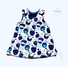 Load image into Gallery viewer, Handmade Baby Dungaree Dress - made to order