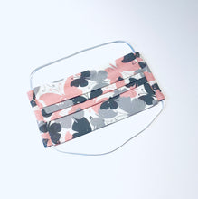 Load image into Gallery viewer, Fabric Face Mask with elastic (Barrier Mask) - Pink Butterflies  ***NEW***