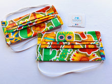 Load image into Gallery viewer, Fabric Face Mask with elastic (Barrier Mask) - Tequila Sunrise