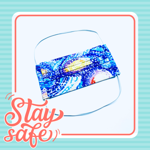 Fabric Face Mask with elastic (Barrier Mask) - Starry Night ***BACK IN STOCK***