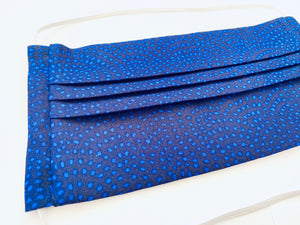 Fabric Face Mask with elastic (Barrier Mask) - Indigo Attire ***BACK IN STOCK***
