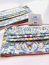 Load image into Gallery viewer, Fabric Face Mask with elastic (Barrier Mask) - Boho Meadow ***BACK IN STOCK***