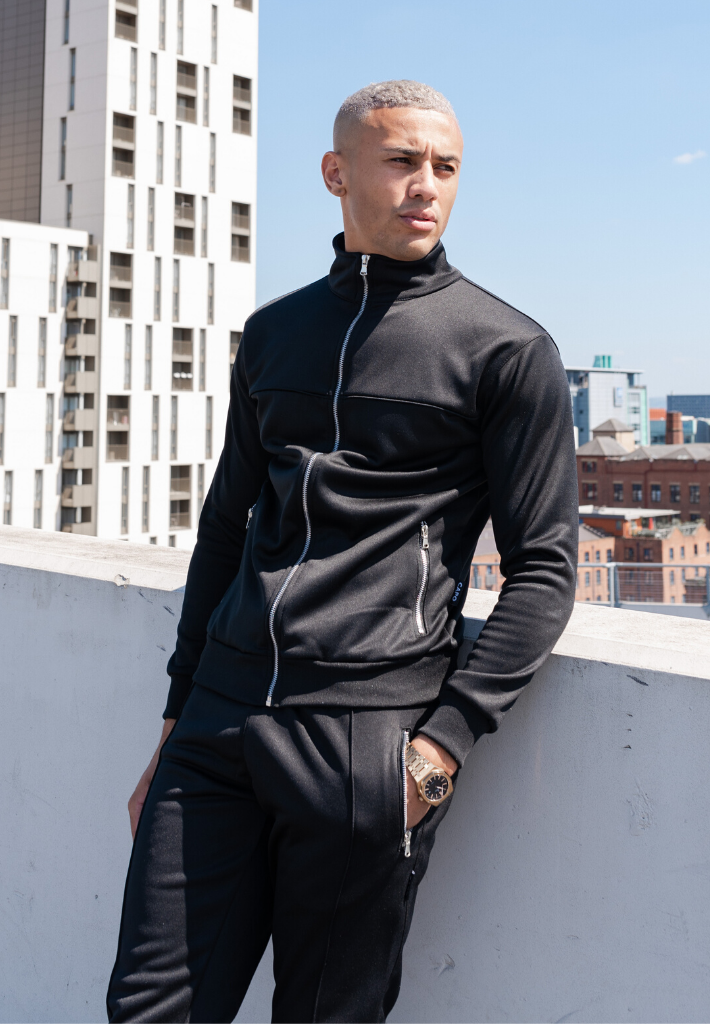 Capo SMART Tracksuit Jacket - Black