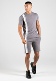 Capo STRIPE Short - Steel Grey