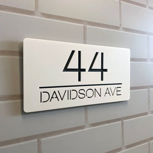 House Sign Number
