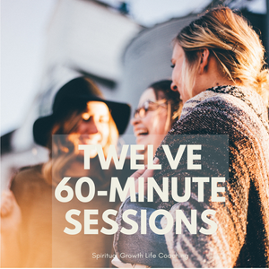 Twelve 60-minute  Spiritual Growth Life Coaching Sessions