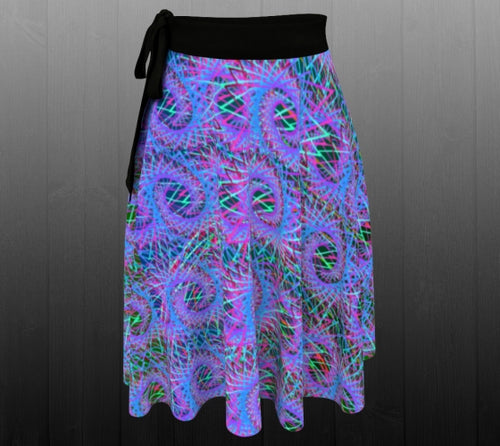 Love Of Fractals Skirt - Astral Wizard Art