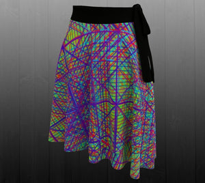 Ayahuasca Dream Skirt - Astral Wizard Art