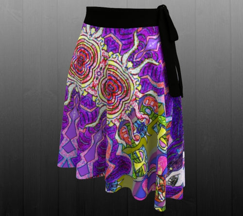 Tiki Attack Skirt - Astral Wizard Art