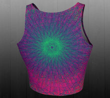 Load image into Gallery viewer, Eternal Borealis Crop Top - Astral Wizard Art
