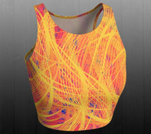 Load image into Gallery viewer, Phoenix Rising Crop Top - Astral Wizard Art