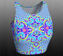 Load image into Gallery viewer, Euphoria Crop Top - Astral Wizard Art