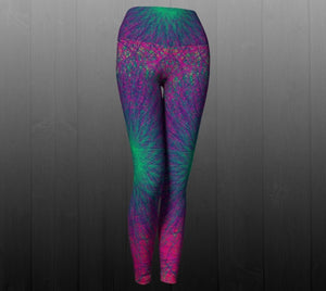 Eternal Borealis Leggings - Astral Wizard Art