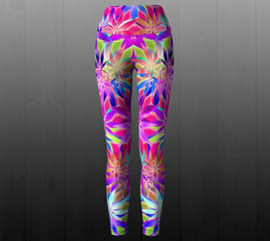 Smoking Hot Leggings - Astral Wizard Art