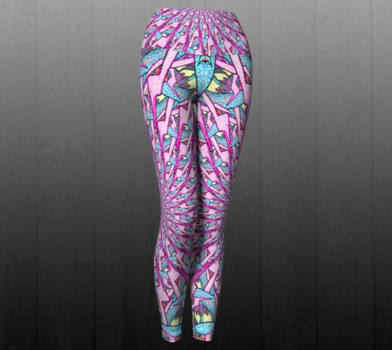 Portal To Another Dimension Leggings - Astral Wizard Art