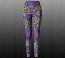 Load image into Gallery viewer, Ayahuasca Dream Leggings - Astral Wizard Art