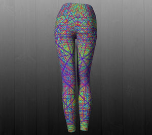 Ayahuasca Dream Leggings - Astral Wizard Art