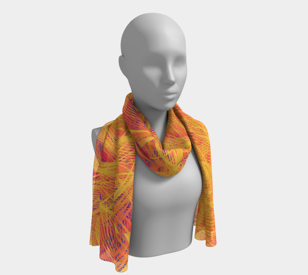 Phoenix Rising Scarf - Astral Wizard Art