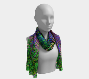 Infinite Universe Scarf - Astral Wizard Art