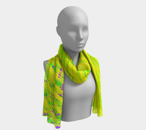 Citrus Splash Lively Scarf - Astral Wizard Art