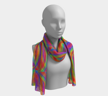 Load image into Gallery viewer, Whirly Bird Scarf - Astral Wizard Art