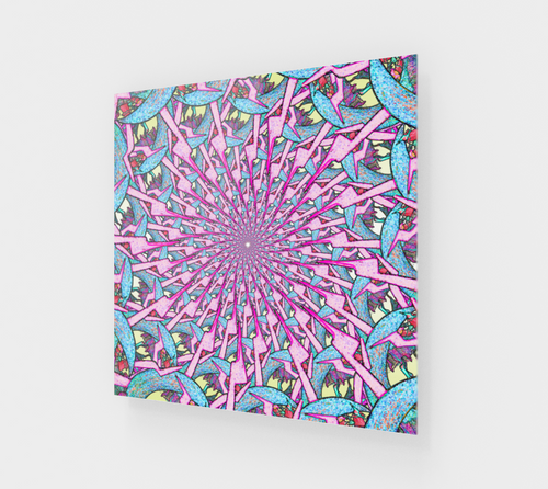 Portal To Another Dimension Wall Art - Astral Wizard Art