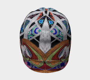 Mystical Worlds Beanie - Astral Wizard Art
