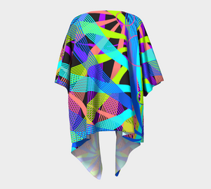 Captivating Handmade Vortex Kimono - Astral Wizard Art