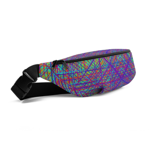 Ayahuasca Dreams Fanny Pack - Astral Wizard Art