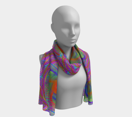 Symbiosis Scarf - Astral Wizard Art